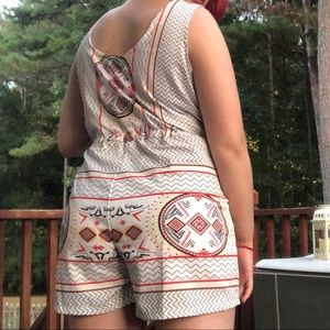 Choies Other - Choies Aztec Print  Romper with Pockets